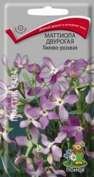 Маттиола двурогая Лилово-розовая в упаковке 0.3гр арт360399