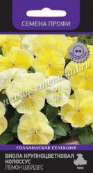 Виола крупноцветковая Колоссус  Лемон Шейдес в упаковке 10шт арт744766